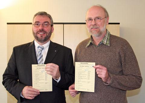 Bild zum Artikel: Wahl zum Integrationsrat: OB Jörg Dehm ruft zu reger Wahlbeteiligung auf