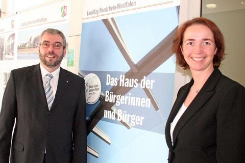 Bild zum Artikel: Eröffnung der Landtagsausstellung im Rathaus an der Volme