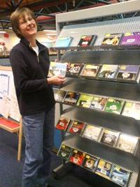 Bild zum Artikel: Hörbücher in der Bücherei Boele