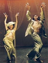 Bild zum Artikel: Tanzräume 2005 - Artischocke im Silbersee