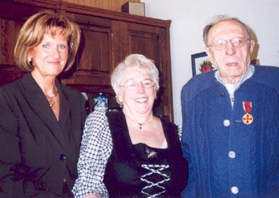 Bild zum Artikel: Bundesverdienstmedaille für Heinrich Franke