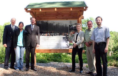 Bild zum Artikel: Van-Eupen-Stiftung unterstützt Aufforstung im Stadtwald