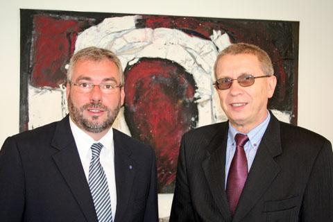 Bild zum Artikel: Generalkonsul Jewgenij Schmagin in Hagen zu Gast