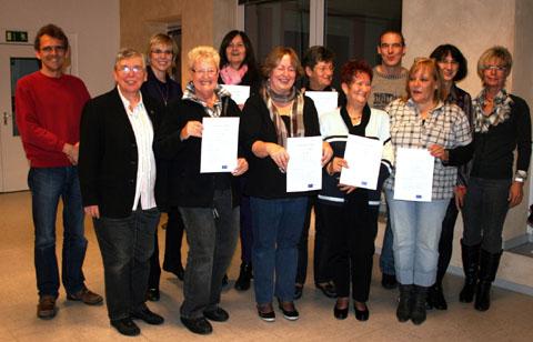 Bild zum Artikel: Ehrenamtlichen Helfer in der Betreuung und Begleitung von Menschen mit Demenz geschult