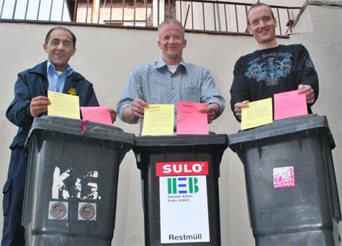 Bild zum Artikel: Rote Karte für Müllsünder