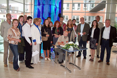 Bild zum Artikel: Künstler aus Smolensk im Rathaus begrüßt