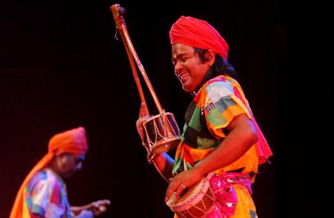 Bild zum Artikel: Baul Bishwa Trio in in der Offenen Lutherkirche