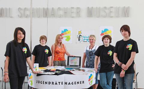 Bild zum Artikel: Hagener Jugendräte zeigen Präsenz gegen Rassismus