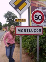 Bild zum Artikel: Praktikantin sammelt Erfahrungen in Montlucon
