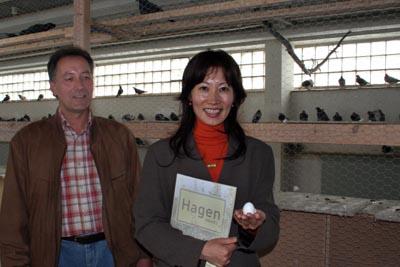 Bild zum Artikel: Das Umweltamt informiert Tierärztin aus Japan