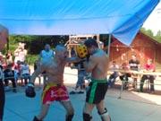 Kickbox-Show-Kampf