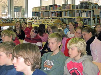 Eine Lesung für Schulklassen mit Ralf Lilienthal in Hagen
