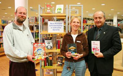 Bild zum Artikel: Neue Bücher in türkischer Sprache in der Stadtbücherei