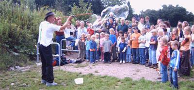 Bild zum Artikel: Neuer Rasenvolleyballplatz für Hagener Jugendliche