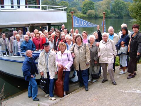 Bild zum Artikel: SSB-Senioren auf großer Fahrt