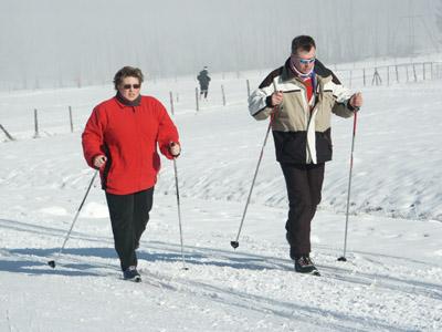 Bild zum Artikel: Mit dem SSB zum Skilanglauf