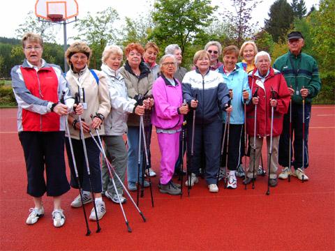 SSB Hagen: Sportprogramm bei der Seniorenfahrt 2009