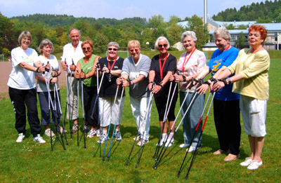 Aktionstag 55plus: Nordic Walking in Hagen