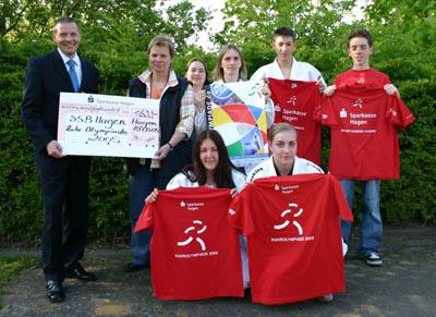 Bild: Hagener Sportjugend bei der Ruhrolympiade 2005