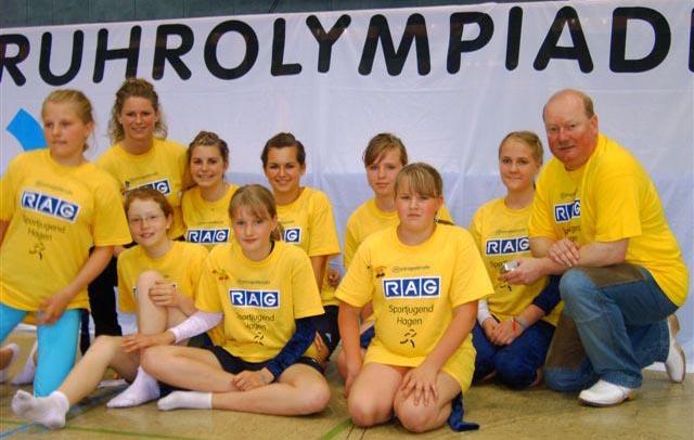 Ruhrolympiade 2006 - Trampolin-Springerinnen