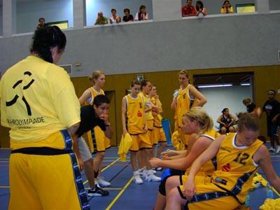 Weibliche Basketballjugend aus Hagen bei der Ruhrplympiade 2006