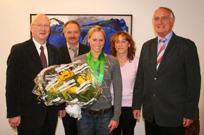 Bild zum Artikel: Ehrung für zweifache Weltmeisterin aus Hagen