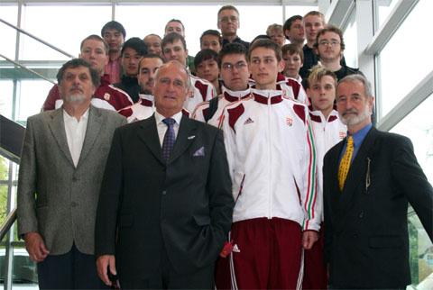 Empfang für Top-Federfußballer im Hagener Rathaus