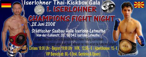 Bild zum Artikel: 1. Champions Fight Night
