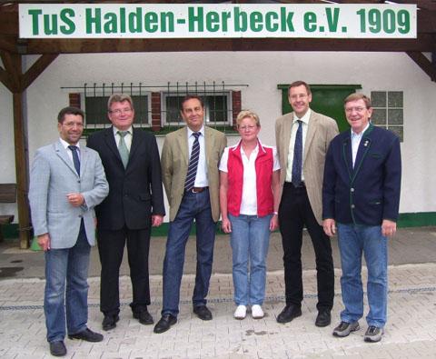 Der Vorstand des TuS Halden Herbeck