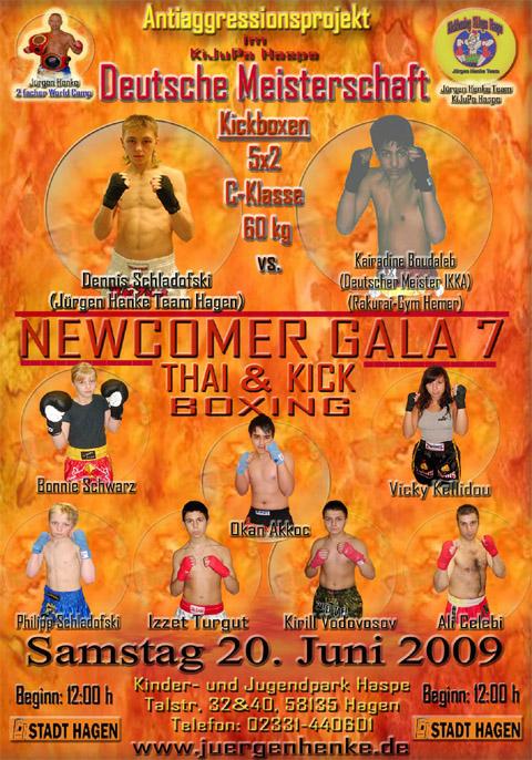 Bild zum Artikel: 7. Open Air Newcomer Thai-Kickbox-Gala in Hagen mit Deutscher Meisterschaft