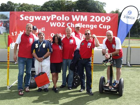 Bild zum Artikel: Segway-Poloteam der LGS-Hemer belegt bei der WM in Köln den fünften Platz