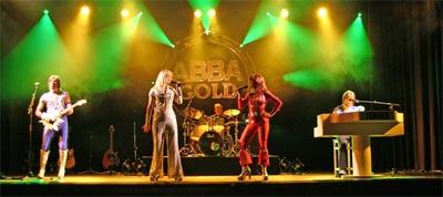 Hagen, Stadthalle - Abba Gold Tournee