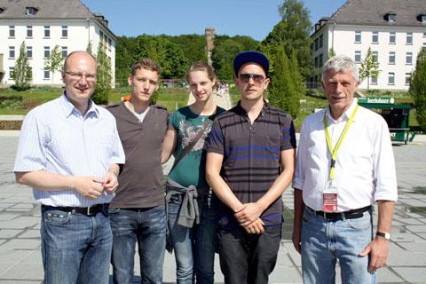 Bild zum Artikel: Jan Delay begrüßt 250.000-sten Gartenschau-Besucher