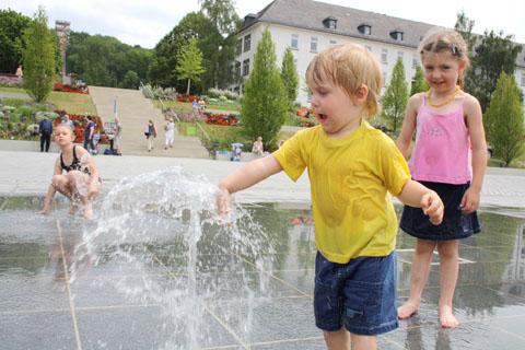 Bild zum Artikel: Landesgartenschau: Himmelsspiegel wird zum Freibad