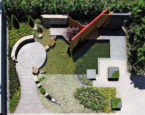 Fotobuch zur LGS-Hemer 2010: der Formengarten aus der Luft