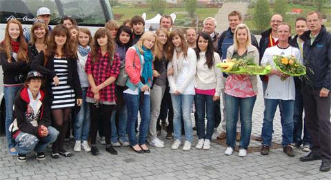 Bild zum Artikel: Schon 500 Reisebusse empfangenbei der LGS in Hemer