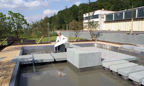 Bild zum Artikel: Firma Klute aus Sundern gestaltet Themengarten für die LGS-Hemer