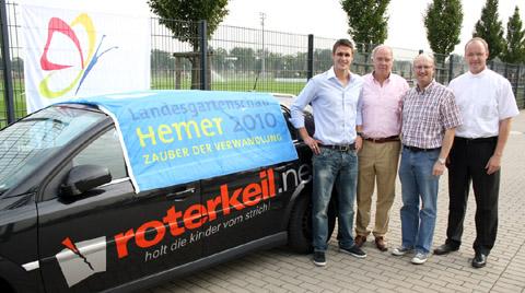 Bild zum Artikel: Sebastian Kehl, roterkeil.net und LGS-Hemer vereinbaren Partnerschaft