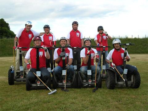 Bild zum Artikel: Segway-Poloteam der Landesgartenschau Hemer bei WM in Köln