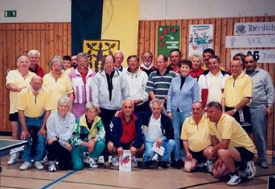 Bild zum Artikel: Tischtennis-Breitensportgruppe feiert Jubiläum
