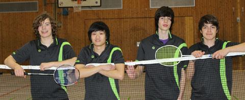 Bild zum Artikel: Badminton Jugend des VfL Eintracht Hagen ungeschlagener Meister