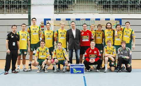 Bild zum Artikel: SPORTCO stellt neue Handballtore für die Ischelandhalle zur Verfügung