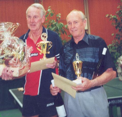 Tischtennis: Horst Ilberg - Walther Fleiner