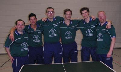 Bild zum Artikel: Jubel bei den Tischtennisspielern von Eintracht Hagen