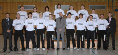 Jugend-Handballer des VFL Eintracht Hagen