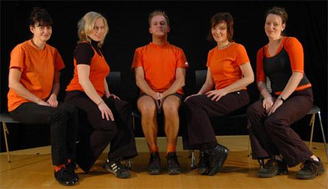 Bild zum Artikel: Impro-Theater-Abend in der Villa Post