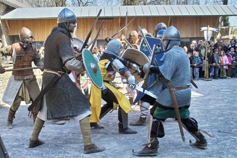 Bild zum Artikel: Ritter Spektakulum im Wasserschloss Werdringen