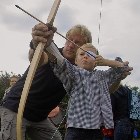 Bild zum Artikel: Workshop Bogenbau