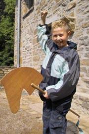 Bild zum Artikel: Kinder - Ritterturnier beim großen Mittelalterfest am Wasserschloss Werdringen