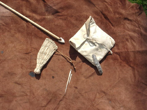 Bild zum Artikel: Steinzeittechniken kompakt erlernen